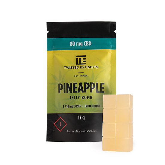 Twisted Extracts - Pineapple - Jelly Bomb - CBD