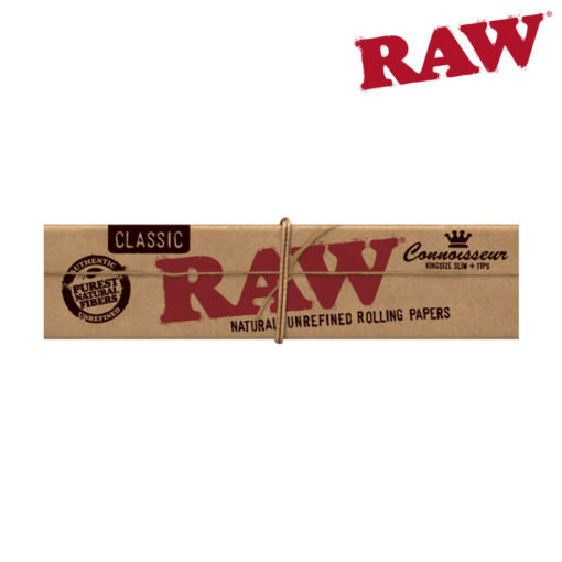RAW® - Classic - Connoisseur King Size Slim - Rolling Papers