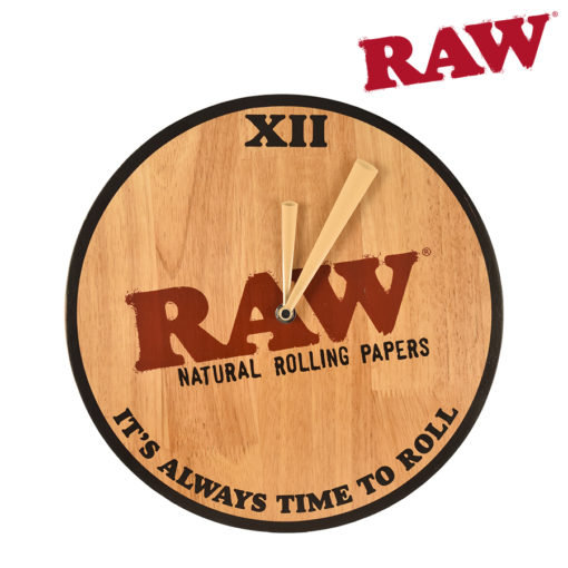 RAW® - Wooden Clock