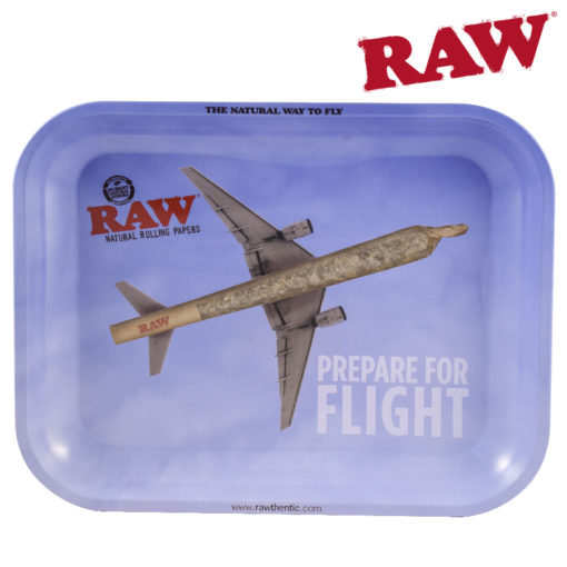 RAW® - Rolling Tray - Prepare For Flight - Large