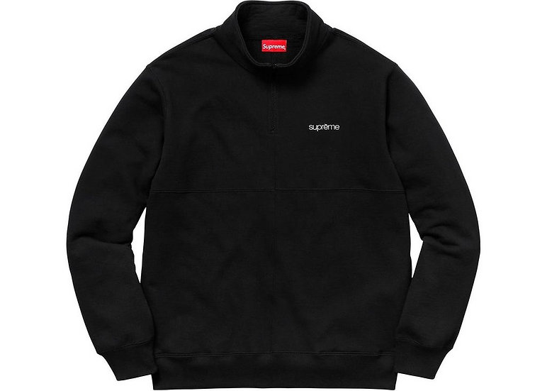 Supreme® - Colour Blocked Half Zip Sweatshirt - SS18SW62