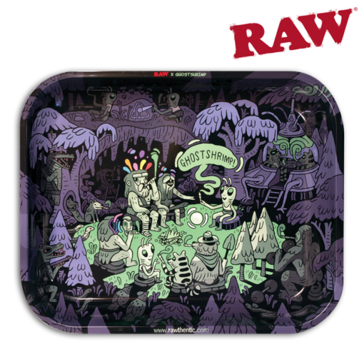 RAW® - Rolling Tray - Ghost Shrimp - Large