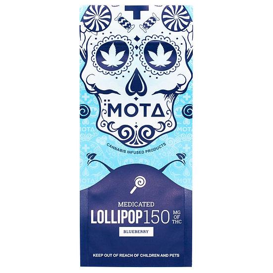 MOTA - Lollipop - Blueberry - 150mg THC