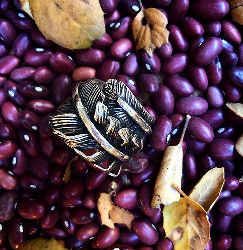 Feather Magic Ring Sz. 12/13