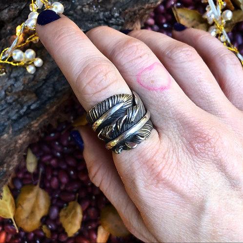 Feather Magic Ring Sz. 8/8.5