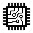 50020796-computer-chip-circuit-board-fla