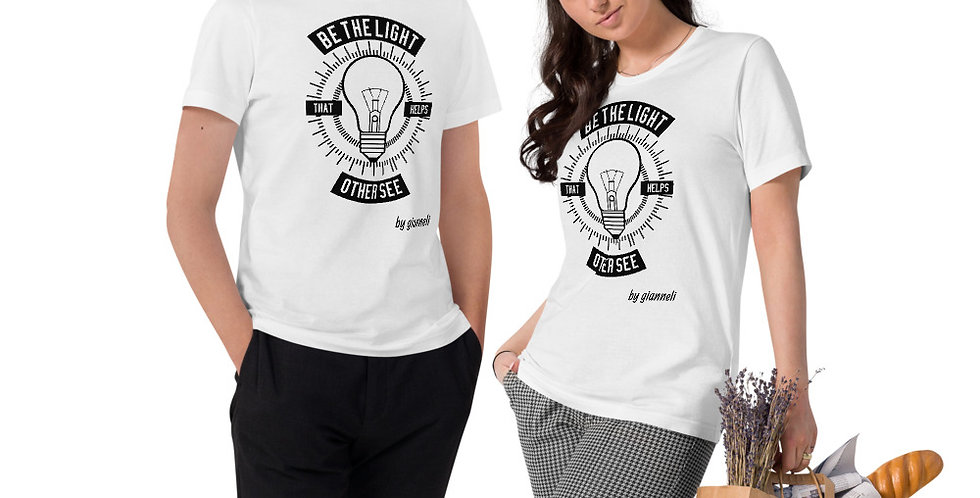 Unisex Organic Cotton T-Shirt JH76877