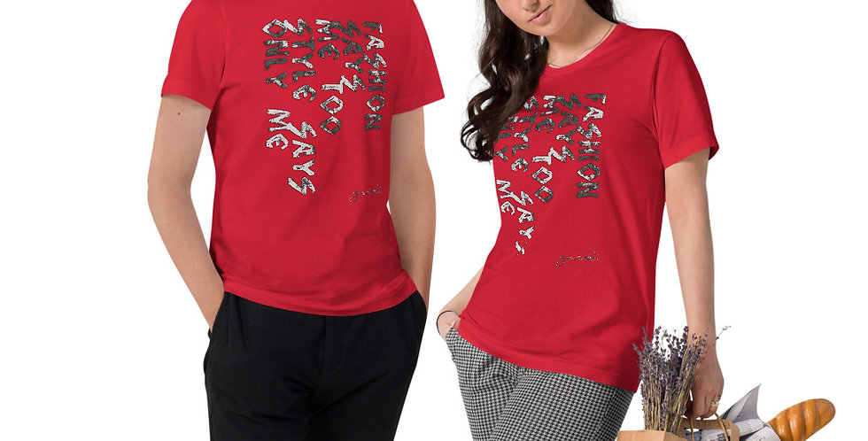 Unisex Organic Cotton T-Shirt SD75676