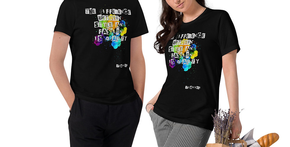 Unisex Organic Cotton T-Shirt JH767657