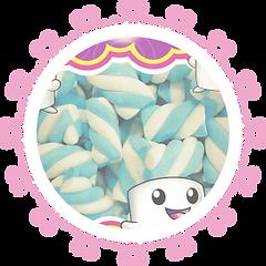Marshmallows coloridos