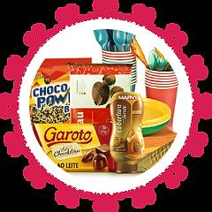 Chocolates e itens para confeitaria