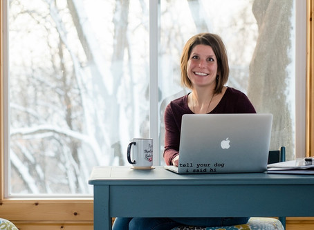 Small Business Spotlight: Kate Hansen of Blue Sun Designs