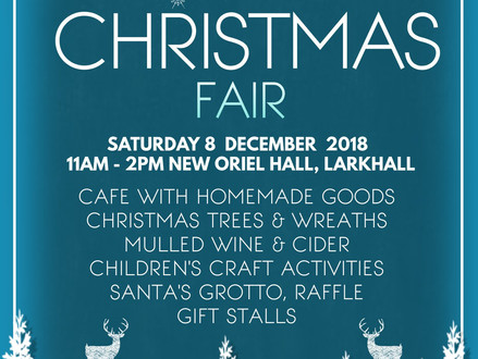 Friends News - Christmas Fair