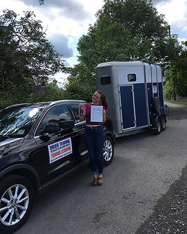 Huge congratulations to Jess who passed