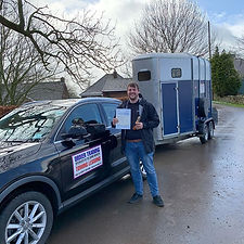 A fantastic drive for a first time pass