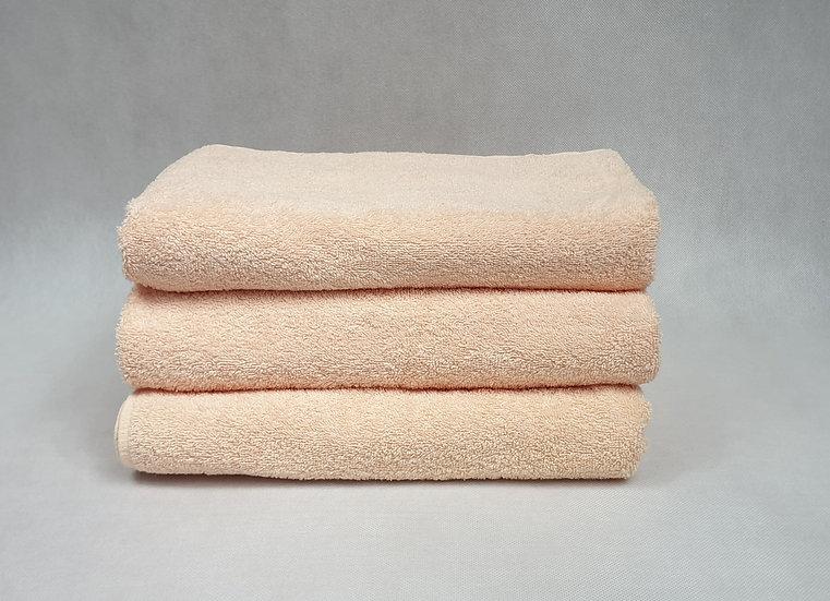 Ręcznik frotte 70x140 - Łososiowy