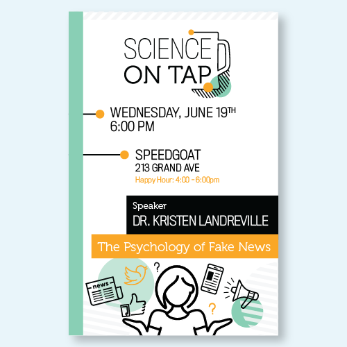 Science on Tap Poster - Fake News
