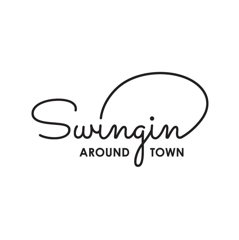 Swingin Around Town Logo