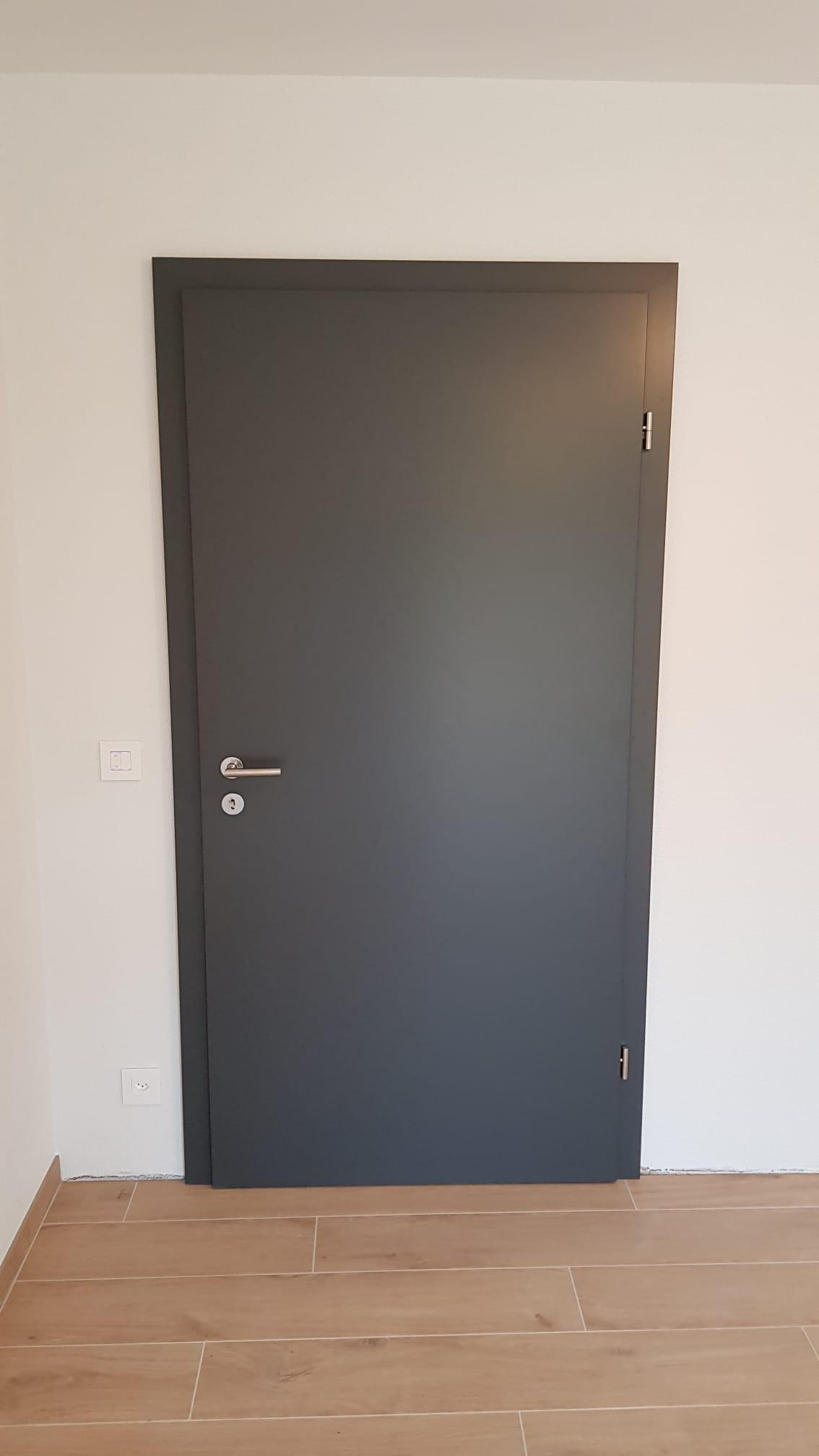 Chantier Nods - Porte 1