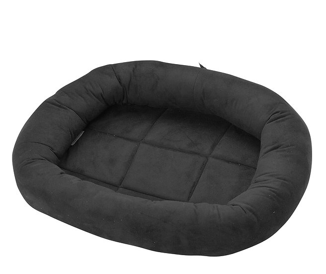 CATRINE Ringo Suede Cat Bed, Black