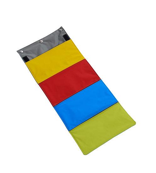 Task for BUSTER ActivityMat, Rainbow purse