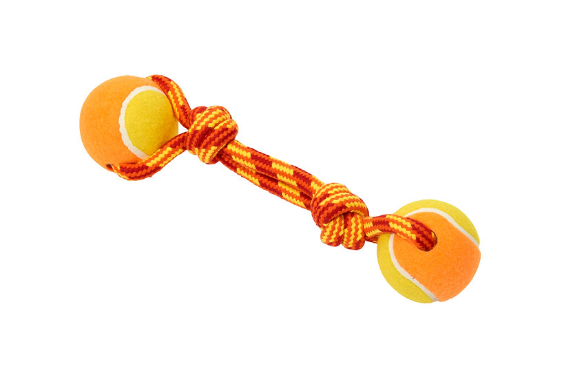 BUSTER Tuggaball Rope Dog Toys