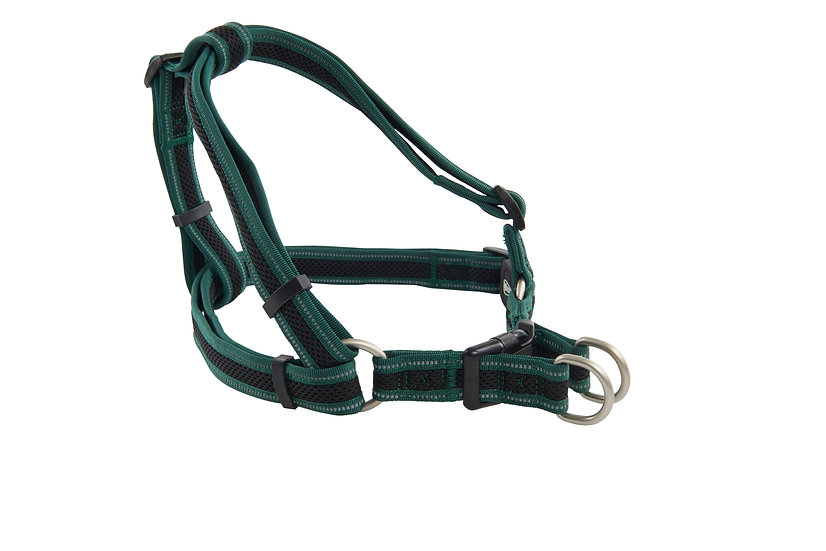 BUSTER Reflective Mesh Step-In Dog Harness