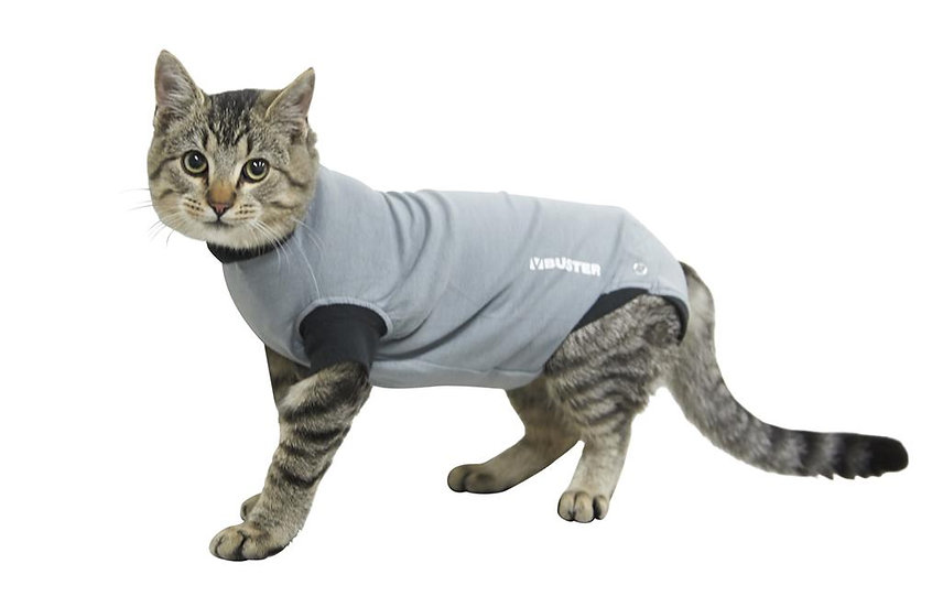 BUSTER Recovery Body Suit for Cats