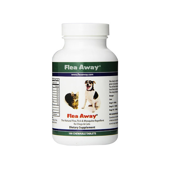 Flea Away Repellent®, Chewable Tablets
