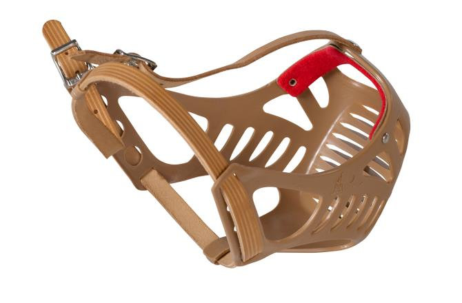 KRUUSE Plastic Muzzle for Boxers & Other Brachycephalic Breeds