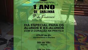CONVITE: 1 ANO DE SHALINHA
