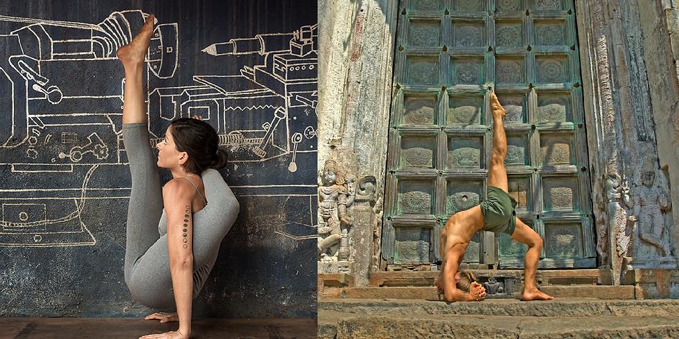 Workshop de Ashtanga Yoga com Helena Rosenthal & Petri Räisänen