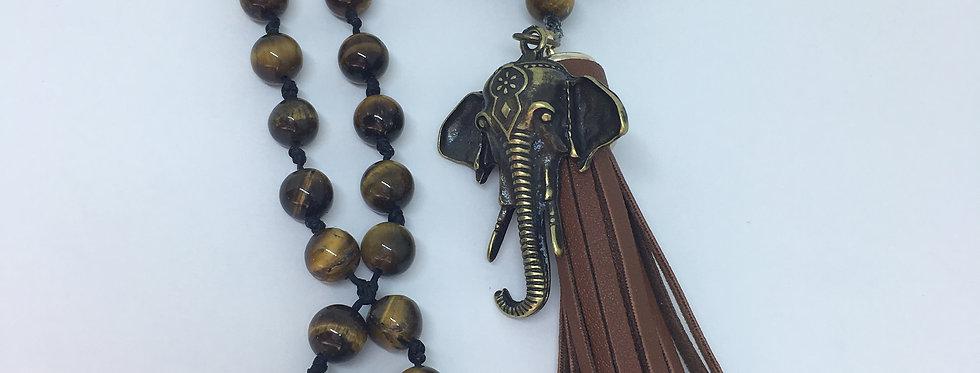 Japamala Ganesha, Olho de Tigre e Vulcano