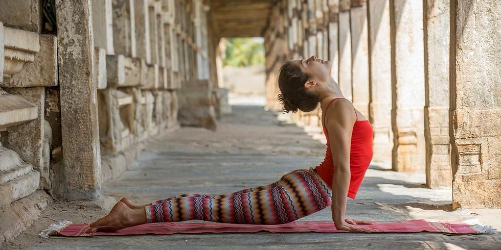 Workshop de Ashtanga Yoga com Lu Andrade