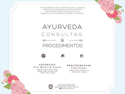 AYURVEDA: CONSULTAS & PROCEDIMENTOS
