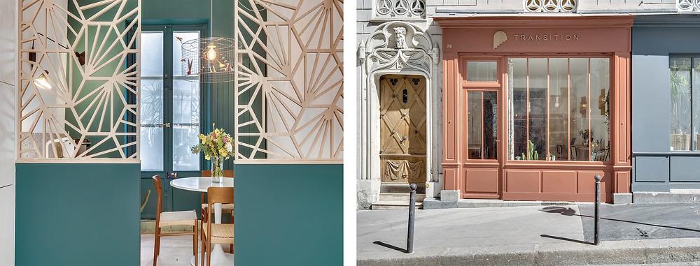 Projet Durantin: Vert et terracotta