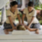 Slim massage + foot massage (a combination of slimming massage and foot massage)