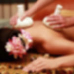 Traditional Thai massage + pahop (hot pouches with Thai herbs)
