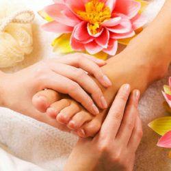 Foot massage (traditional Thai foot massage)
