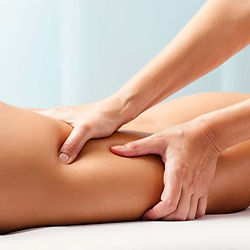 Slim massage + foot massage (a combination of slimming massage and foot massage)