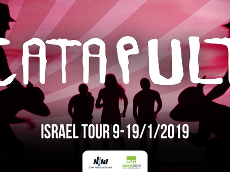 AGT Finalist CATAPULT Coming to Israel with SHADOW MAGIC show