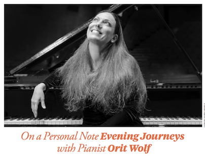 ORIT WOLF on a Musical Journey Around the World