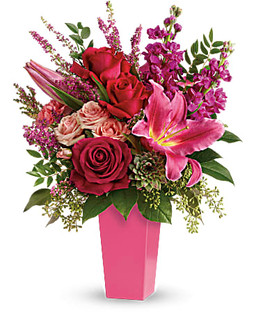 Forever Fuchsia Bouquet ~ $84.99