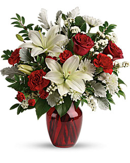 Visions Of Love Bouquet ~ $74.99