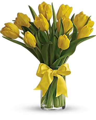 Yellow Tulips ~ $44.99