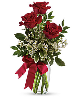 Thoughts of You Rose Vase ~ $39.99