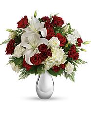 Teleflora's Silver Noel Bouquet Premium ~ $109.99