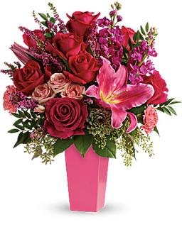 Forever Fuchsia Bouquet Premium ~ $109.99