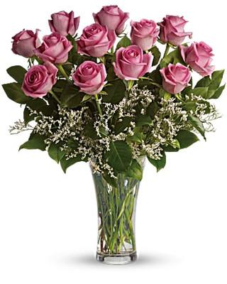 Dozen Long Stem Roses ~ Your Choice Color ~ $69.99