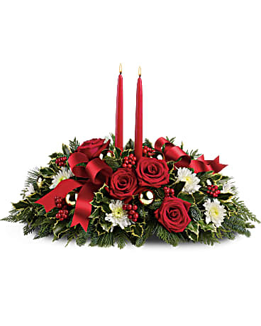 Holiday Shimmer Centerpiece ~ $74.95